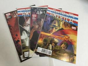Captain America Forever Allies 1-4 Lot Set Run Nm Near Mint Marvel Comics A15