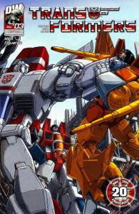 Transformers: Generation 1 (Vol. 3) #3 VF; Dreamwave | save on shipping - detail