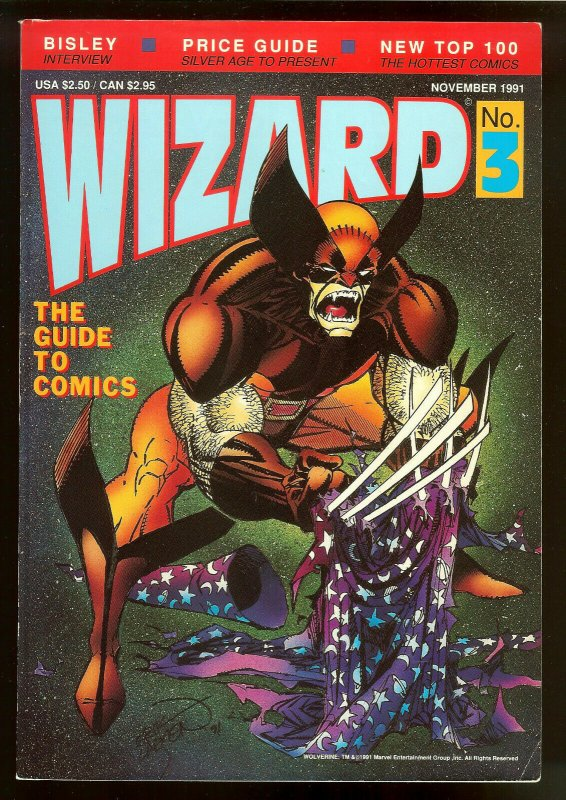 Wizard The Guide To Comics 3   1991