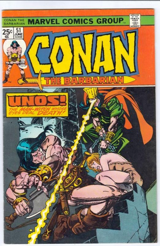 Conan the Barbarian #51 (Jun-75) VF/NM High-Grade Conan the Barbarian