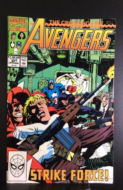 The Avengers #321 (1990)