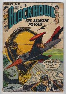 Blackhawk #68, Sept. 1953