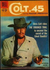 Four Color Comics #1004 1959- Colt 45 TV Photo cover Dell VF