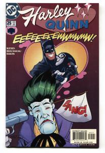 HARLEY QUINN #25-2002-DC comic book-JOKER COVER-NM-