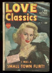 LOVE CLASSICS #2 '50-VIRGINIA MAYO-PHOTO CVR-WHITE HEAT VG