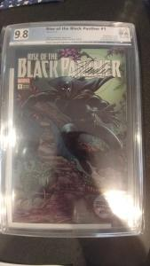 Rise Of The Black Panther 1 PGX 9.8 SS Stan Lee DNA