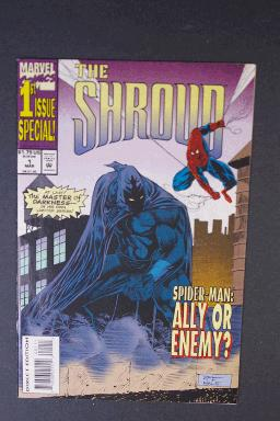 The Shroud #1, Spider-Man Appearance, March 1994