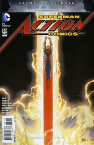 Action Comics (2nd Series) #50 VF/NM; DC | save on shipping - details inside