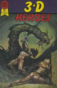 3-D Heroes #1 VG; Blackthorne | low grade comic - save on shipping - details ins