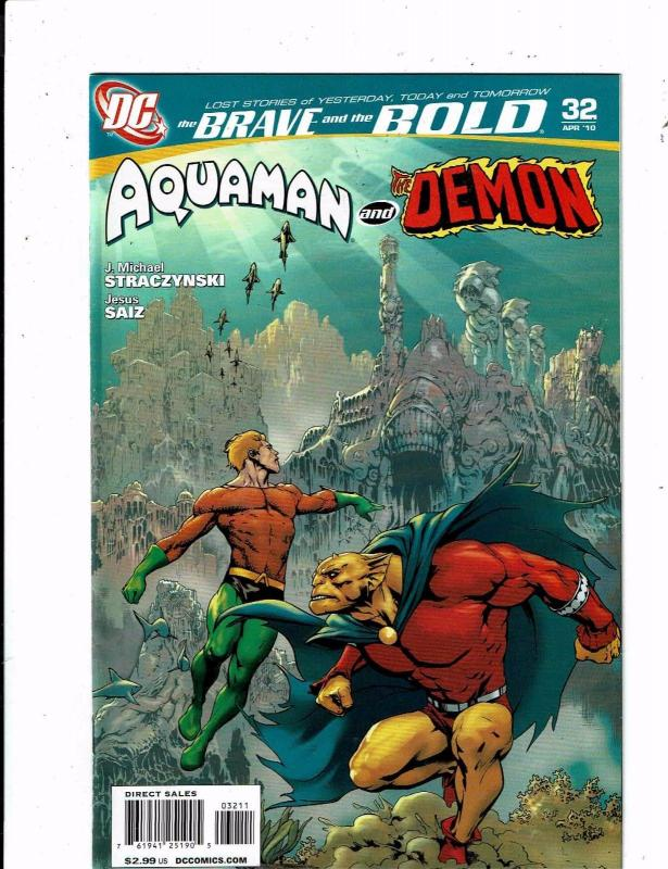 Lot Of 5 Brave & The Bold DC Comic Books # 29 30 31 32 35 Batman Flash Atom J212