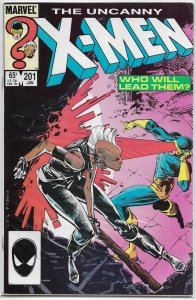 Uncanny X-Men   vol. 1   #201 FN Storm vs. Cyclops, Claremont/Leonardi