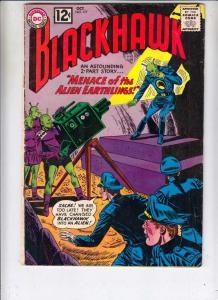 Blackhawk #177 (Oct-62) FN Mid-Grade Black Hawk, Chop Chop, Olaf, Pierre,Chuc...