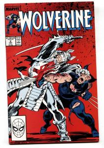 Wolverine #2-VF/NM-Marvel Comic Book-1989