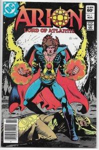 Arion, Lord of Atlantis   # 1 VG