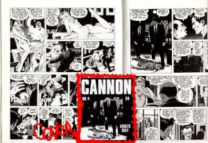 CANNON#4:Wally Wood's HOT BABES,action! oversize 10x12
