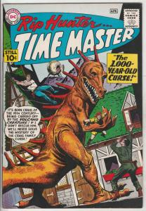 Rip Hunter Time Master #1 (Apr-61) NM High-Grade Rip Hunter, Jeff, Bonnie
