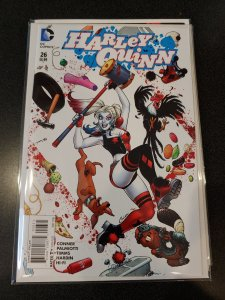 ​HARLEY QUINN #26 CONNER VARIANT COVER 1:25 1st RED TOOL DC COMICS