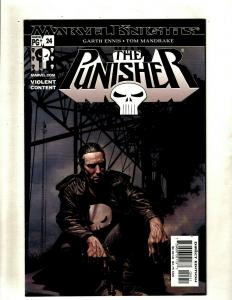 Lot of 8 Comics The Punisher 24 5 1 2 3 4 Painkiller Jane 1 Double-Shot 1 HY7