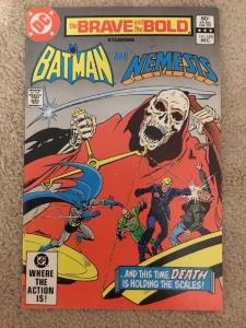 DC The Brave And The Bold 193 Starring Batman And Nemesis