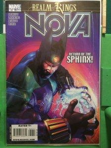 Nova #32 Realm of Kings 2007 series
