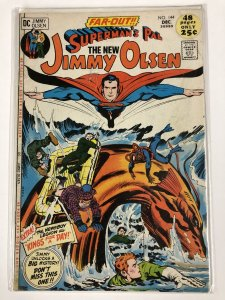 JIMMY OLSEN 144 VG-  Dec. 1971 KIRBY COMICS BOOK