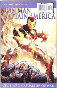 Iron Man Captain America #1 (Jan-07) NM+ Super-High-Grade Marvel Heroes