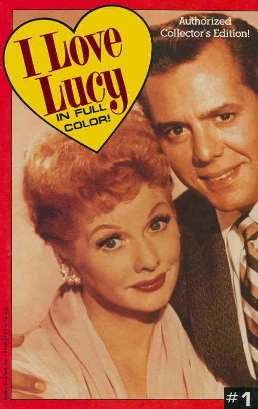 I Love Lucy in Full Color #1 VF/NM; Eternity | save on shipping - details inside