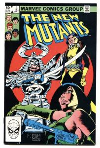 The New Mutants #5 comic book  1983- Marvel High Grade