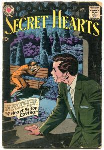SECRET HEARTS #54 1959-DC ROMANCE G