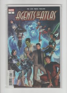 Agents of Atlas #1 NM- (2019, Marvel Comic) 1st Ikeda, Protector of Pan!!