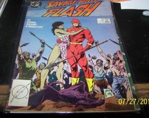FLASH # 10 1988, DC  WALLY WEST HOT CW TV SHOW