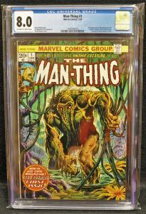Man-Thing #1 (Marvel, 1974) CGC 8.0