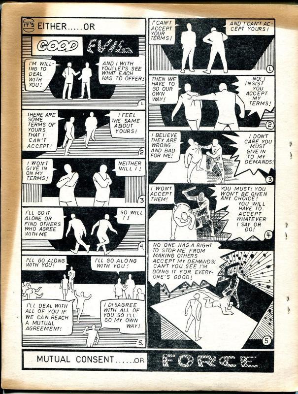 Guts #5 1969-Gluckson-Krenkel-Ditko-Glut-Tim Kirk foldout-VG