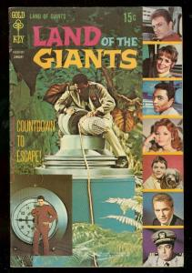 LAND OF THE GIANTS #2 1969-GOLD KEY - TV - PHOTO COVER FN