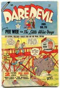 DAREDEVIL #70 1950- GLEASON-ELEPHANT--INTRO: AIR DEVILS FR