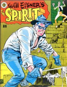 The SPIRIT #25 26 27 28 29, VF+ VF- VF VF- VF-, Kitchen, Will Eisner, 1974, mags