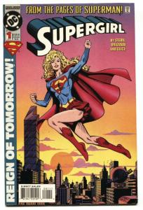 SUPERGIRL #1-1994-FIRST ISSUE-DC-comic book