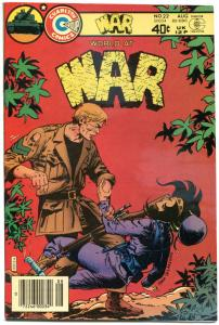 WORLD AT WAR #22, FN+, Sam Glanzman, WWII, 1980, more Charlton in store