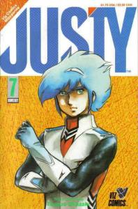 Justy #7 VF/NM; Viz | save on shipping - details inside