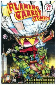 FLAMING CARROT #27, VF, Burden, Teenage Mutant Ninja Turtles, Todd McFarlane