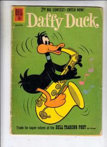 Daffy Duck #27 (Dec-61) GD/VG Affordable-Grade Daffy Duck, Suzanne