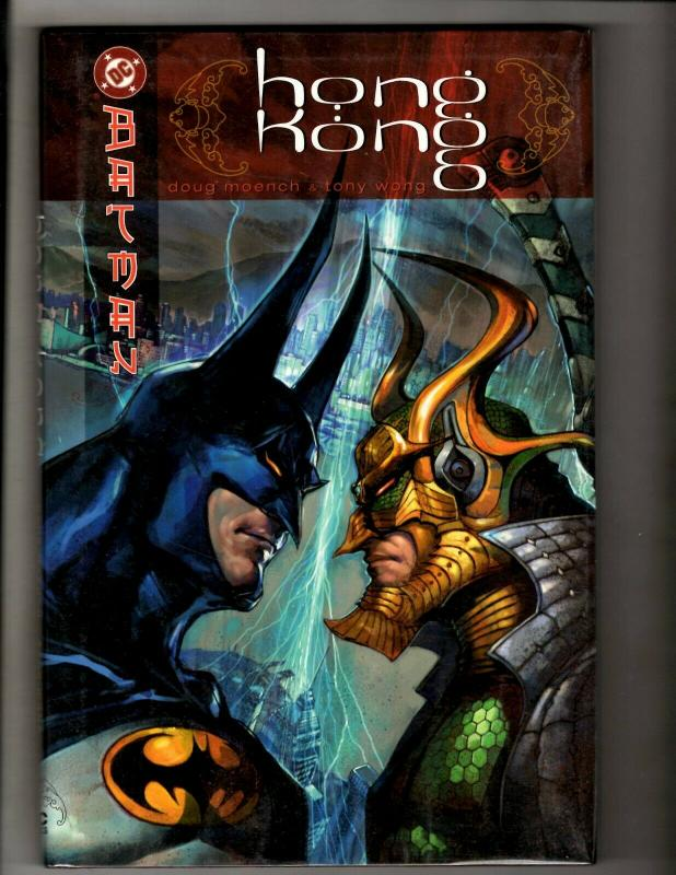 Batman Hong Kong HARDCOVER DC Comics Graphic Novel Gotham Joker Robin Bane SM8