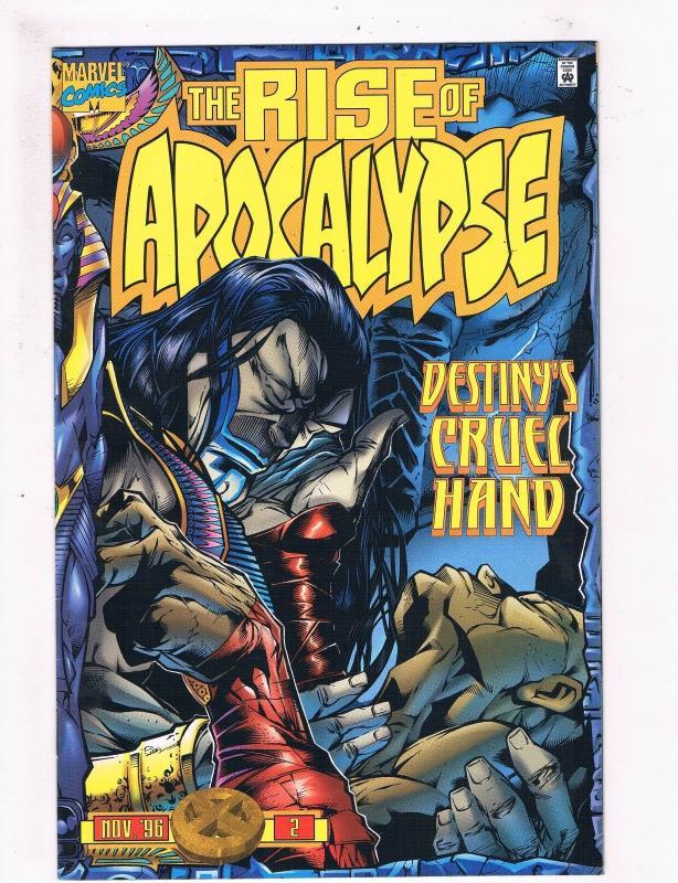 the rise of apocalypse 2 vf nm 1st print marvel comic book origin