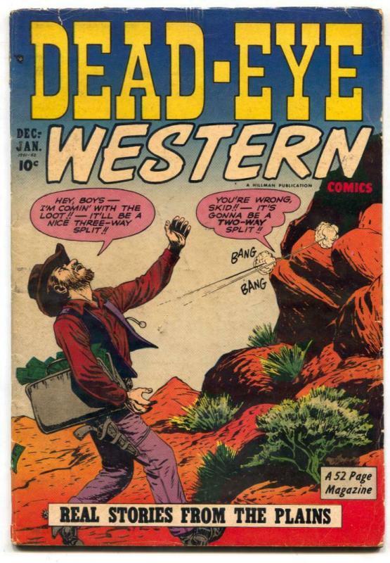 Dead-Eye Western V. 2 #7 Mexican Bandits- VG