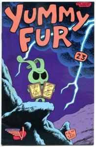 YUMMY FUR #23, FN, Chester Brown, Vortex, 1986, Underground, more in store
