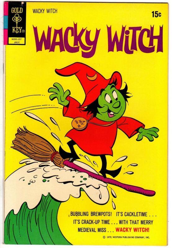 WACKY WITCH (1971-1975 GK) 7 VF July 1972