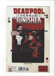 DEADPOOL VS PUNISHER #1 MARVEL  COMICS NM