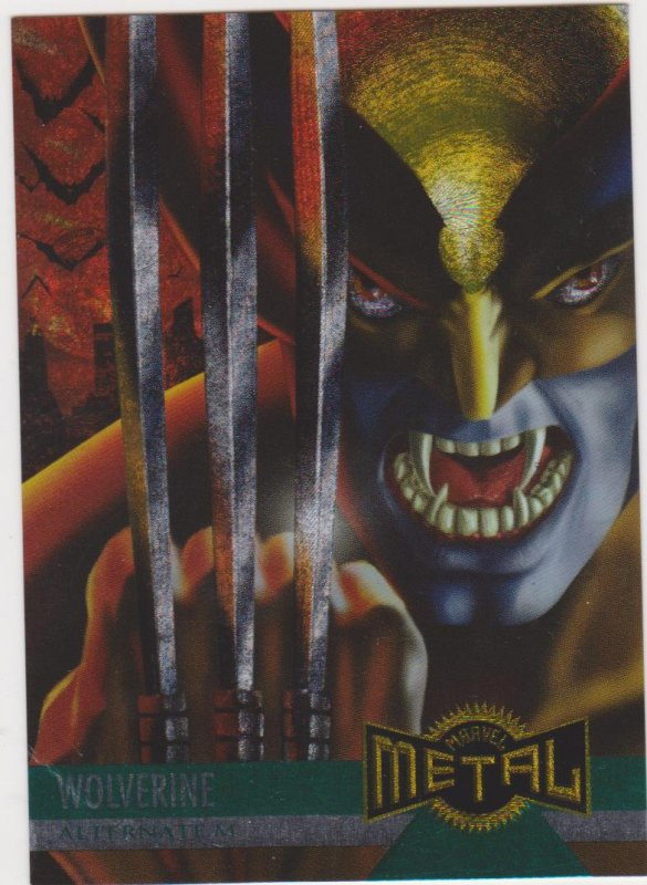 1995 Marvel Metal #137 Wolverine Lord of Vampires