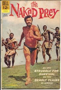 Naked Prey #12-545-612 1966-Dell-movie edition-Cornel Wilde cover-VG
