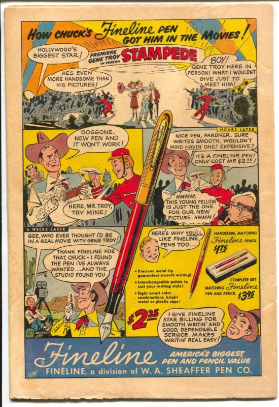 Peter Porkchops #31 1954-DC-fireworks-Thanksgiving-violent humor-VG